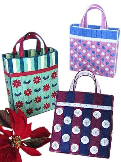 Plastic Canvas - Handbag & Tote Patterns