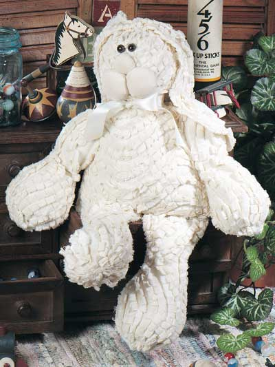 Shaggy Quilted Bunny
