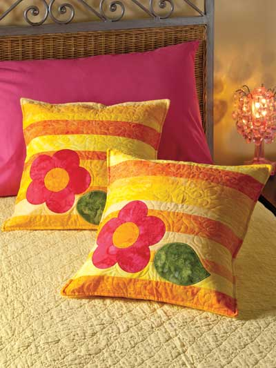 Flower Power Pillows