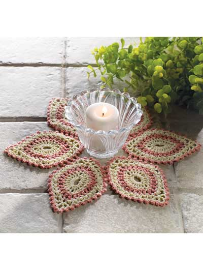 Candle Mat Doily
