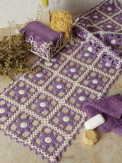 Crochet Table Topper Patterns Crochet Downloads Page 1