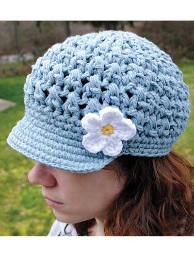 Breezy Brimmed Beanie