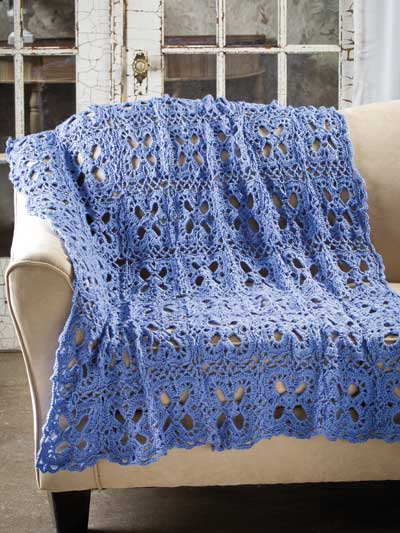 Bluebonnet Throw