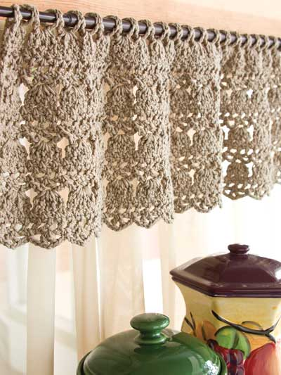 Feather-Stitch Valance