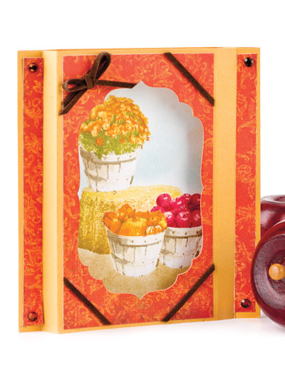 Autumn Shadow Box