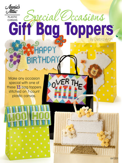 Special Occasions Gift Bag Toppers