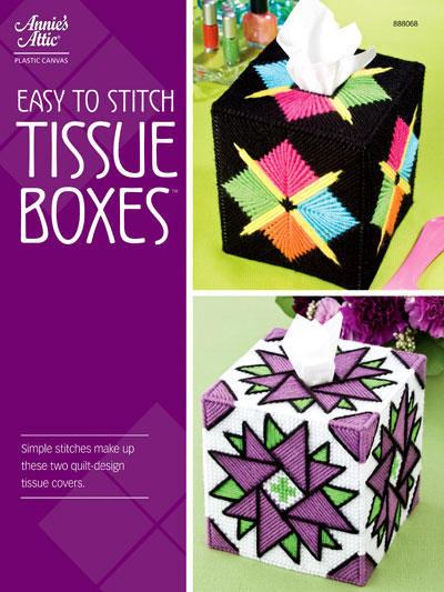 Easy to Stitch Tissue Boxes
