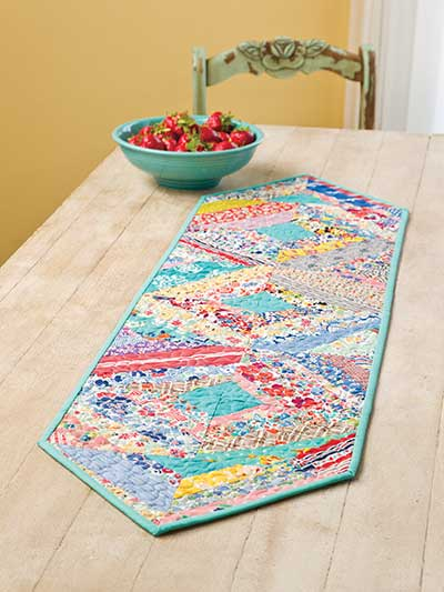 String Fling Table Runner