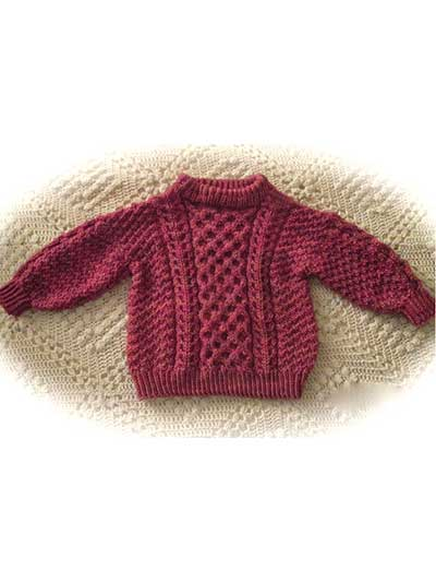 Emerald Isle Child's Pullover