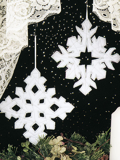 Snowflake Duo Ornaments