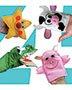 Nursery Rhymes Puppet Set