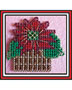 Potted Poinsettia Pin