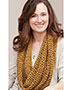 Golden Sparkle Cowl Pattern