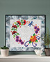 Summer Wreath Wall Hanging Quilt Pattern