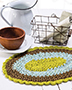 V-Stitch Place Mat Crochet Pattern