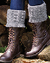 Cabled Boot Toppers Crochet Pattern