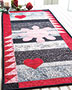 Batik Table Runner Quilt Pattern