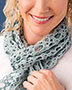 Tide Pool Scarf Crochet Pattern