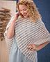 Sea Pebble Poncho Crochet Pattern