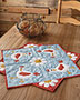 Hen Party Table Topper Quilt Pattern