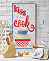 Kiss the Cook Quilt Pattern