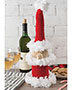 Santa Wine Bottle Cover Crochet Pattern