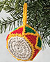 Toy Drum Ornament Crochet Pattern