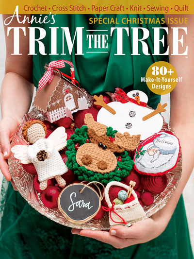 Annie's Special Christmas Issue: Trim the Tree Pattern
