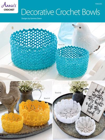 Decorative Crochet Bowls