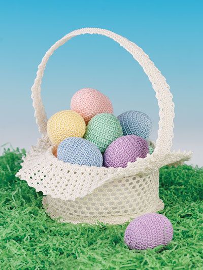 Easter Morning Basket Crochet Pattern