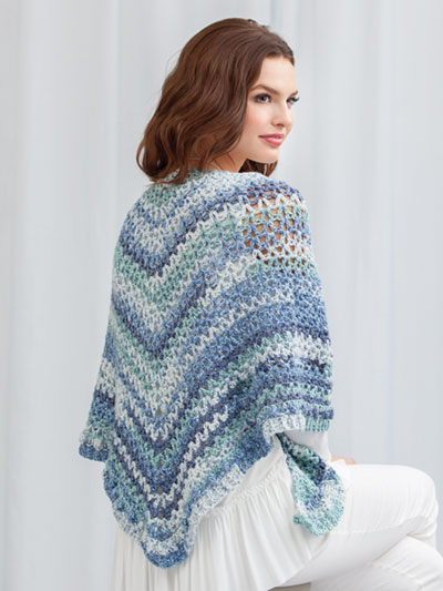 Open Water Shawl Crochet Pattern