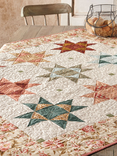Carefree Summer Days Quilt Pattern