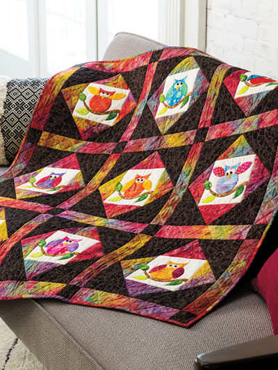 Life's a Hoot! Quilt Pattern
