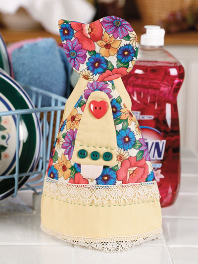 Sunbonnet Sue in the Kitchen Sewing Pattern