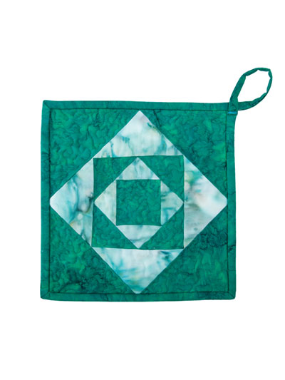 Square in a Square in a Square Quilt Pattern