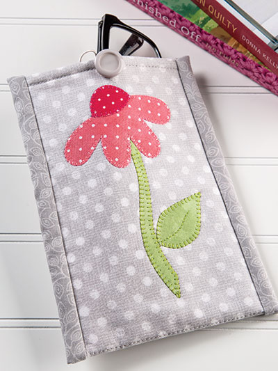 Flower Eyeglasses Case Sewing Quilt Pattern