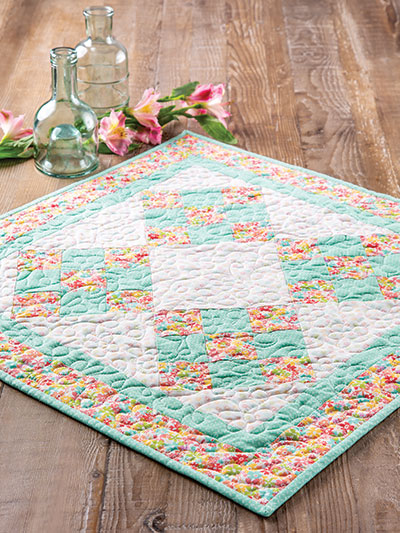 Tricolor Table Topper Sewing Pattern