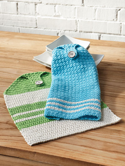 Summertime Towels Crochet Pattern