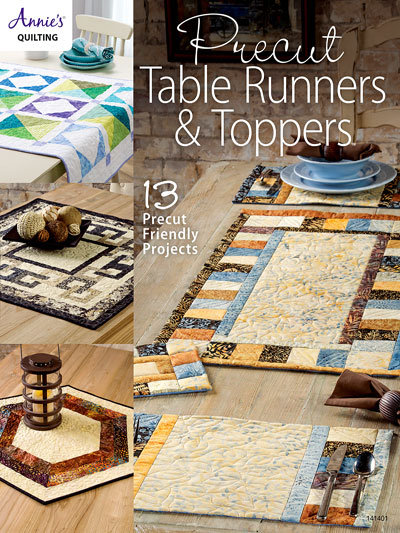 Precut Table Runners & Toppers Quilt Pattern