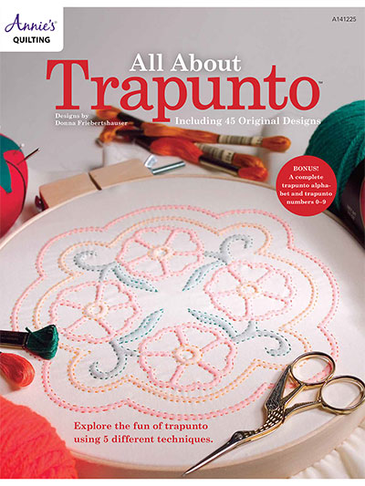 All About Trapunto Quilt Book