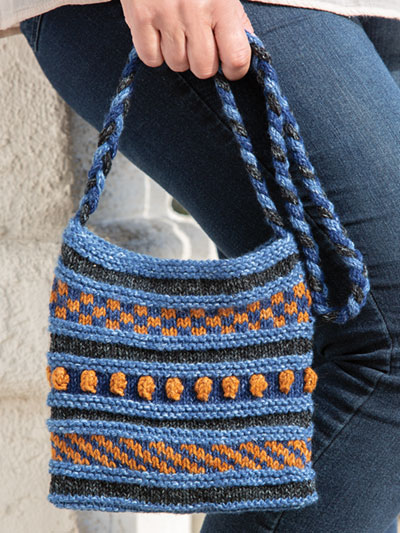 Autumn Sky Purse Knit Pattern