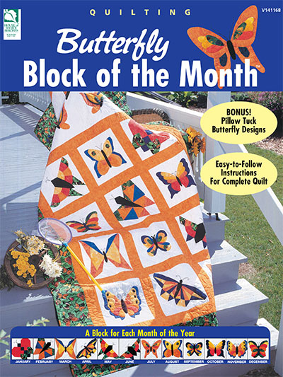 Butterfly Block of the Month Crochet Pattern