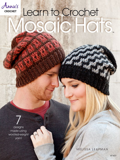 Learn to Crochet Mosaic Hats Pattern