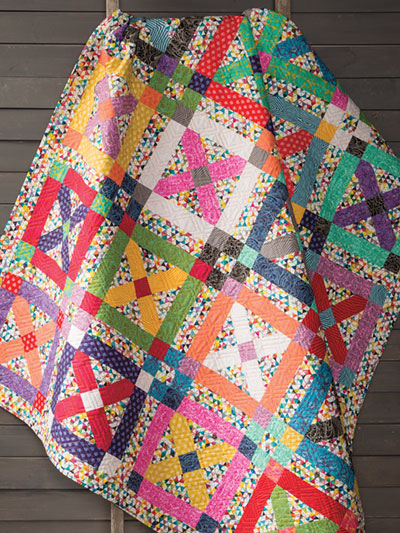 Magic Kisses Quilt Crochet Pattern