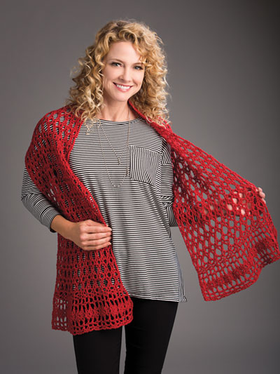 Miel Wrap Crochet Pattern
