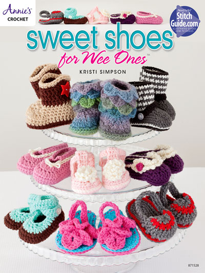 Sweet Shoes for Wee Ones Crochet Pattern