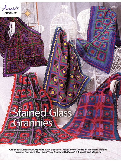 Stained Glass Grannies Crochet Pattern