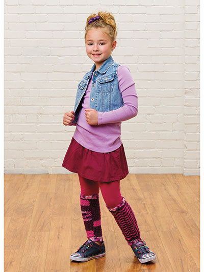 Mismatched Leg Warmers Crochet Pattern