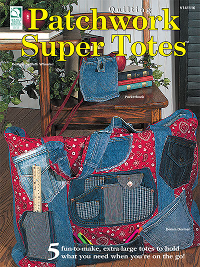Patchwork Super Totes Pattern