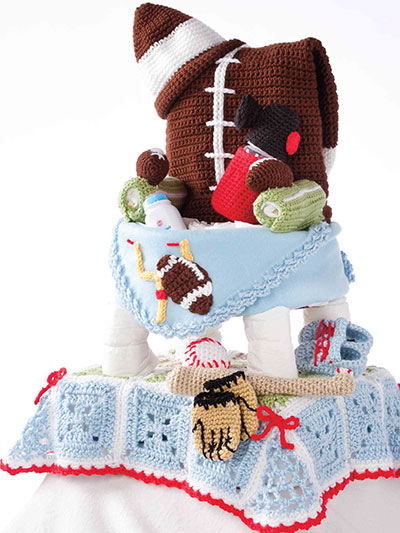 Time Out! Diaper Cake Crochet Pattern